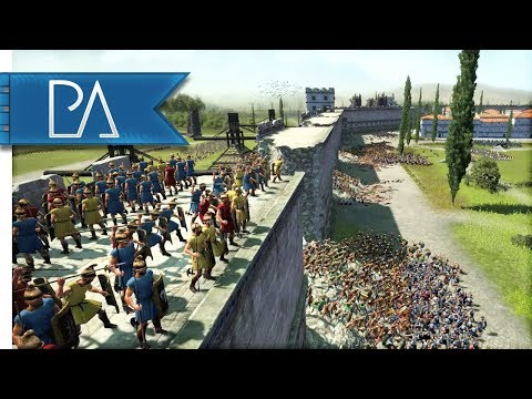 EPIC SIEGE OF TITANS - Pro Player Siege Battle - Total War: Rome 2