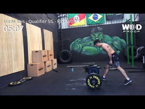 Lucas Reis - Qualifier Super Games 2018 - RX - WOD 1