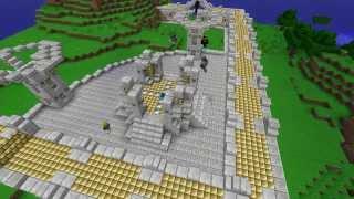 Minecraft Timelapse. Spawn StreamCraft [Sandbox (PVE)]