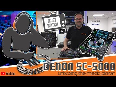 Denon SC5000 Prime UnBoxing @ Getinthemix.com
