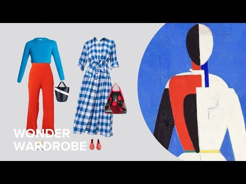 Kazimir Malevich - from painting to capsule wardrobe. Ep.2