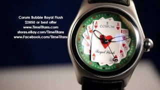 Corum Bubble Royal Flush 082.170.20 2006 Limited Edition