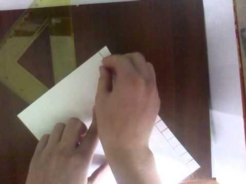 Как сделать замок из бумаги поэтапно