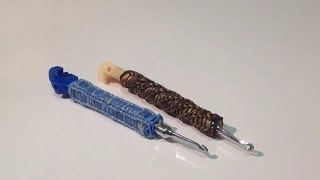 ОПЛЕТЕНИЕ для ручки или крючка из резиночек Rainbow Loom, Урок 16