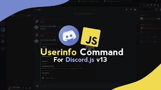 Advance User info Slash Command with Discord.js | Episode 2