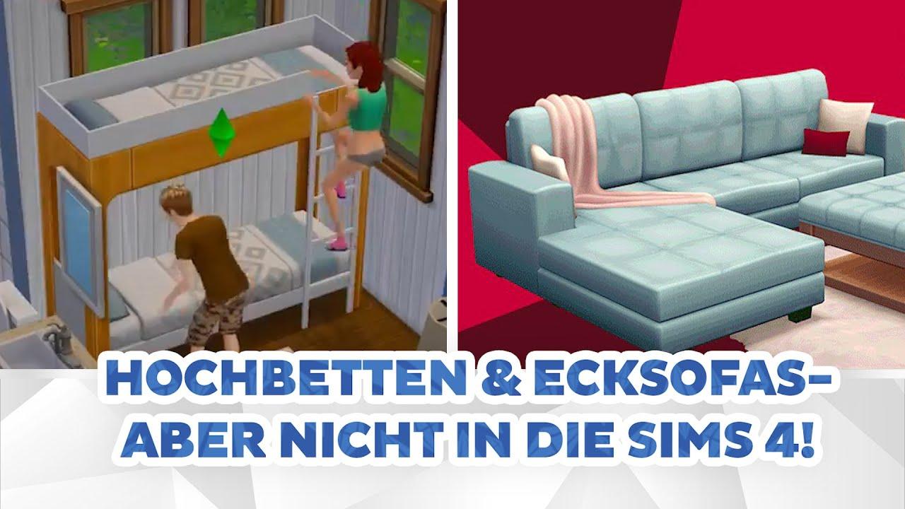 Hochbetten & Ecksofas - aber nicht in Die Sims 4! | sims-blog.de