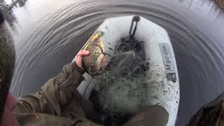 Рыбалка на сети в апреле часть 2 проверка сетей