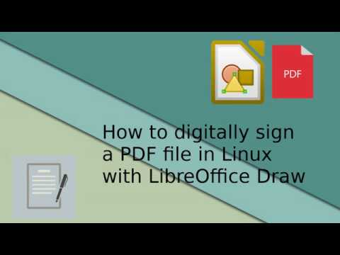 How to digittaly sign a PDF file in Linux [Quick guide]