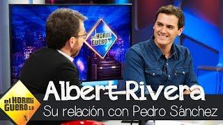 Albert Rivera revela cómo es su relación con Pedro Sánchez - El Hormiguero 3.0