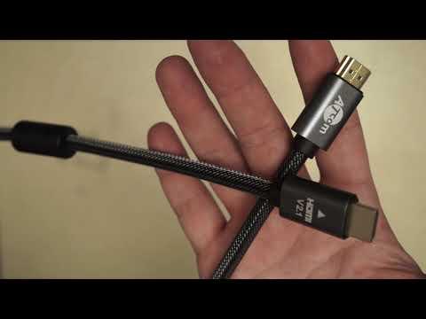 Кабель Atcom HDMI-HDMI Premium VER 2.1 60 HZ 15 м Черный (23715)
