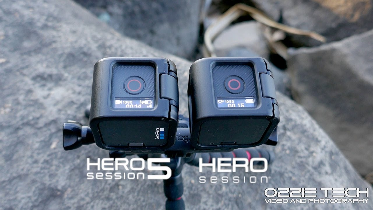 Gopro Hero 5 Vs Hero 4 >> Gopro Hero 5 Session Vs Gopro Hero 4 Session Footage Comparison