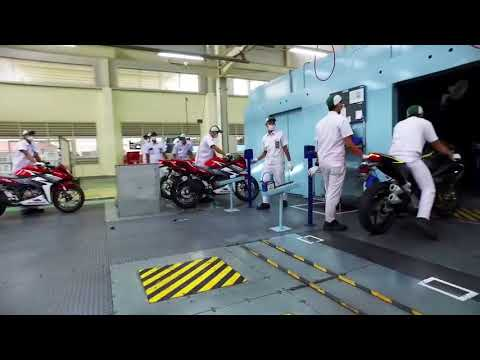Astra Honda Indonesia visited by Marc Marquez & Dani Pedrosa promo video