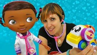 Доктор Плюшева и другие Машины Игрушки в видео для детей