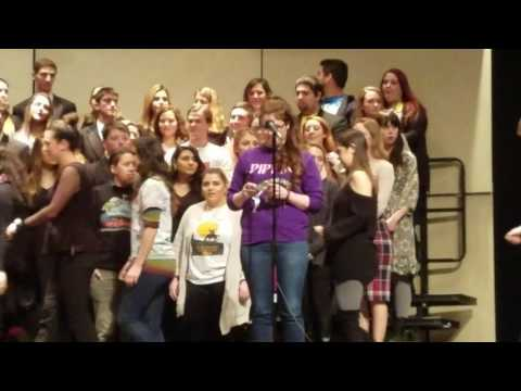 In Memory of Kerri Becvar - East Islip High School Choir Seasons of Love cover