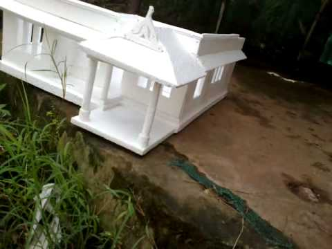 Make boat house model