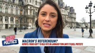 'Gilets jaunes': Emmanuel Macron 'to call referendum' over France's 'yellow vest' protests
