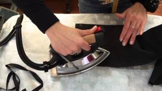 Как подшить брюки с помощью ленты - как правильно пользоваться клеевой или паутинкой с видео