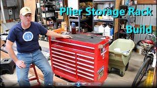 DIY Plier Storage Rack