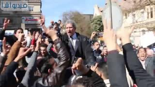 بالفيديو : هتافات امام مجلس الدولة  تيران وصنافير مصرية