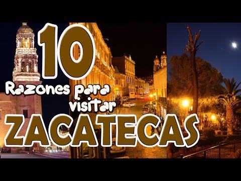10 razones para visitar ZACATECAS, MEXICO.