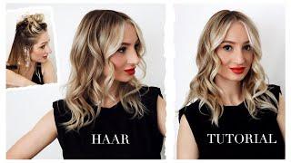 Balayage selber färben | Blonde Strähnchen nachfärben, Ansatz kaschieren und Blond auffrischen