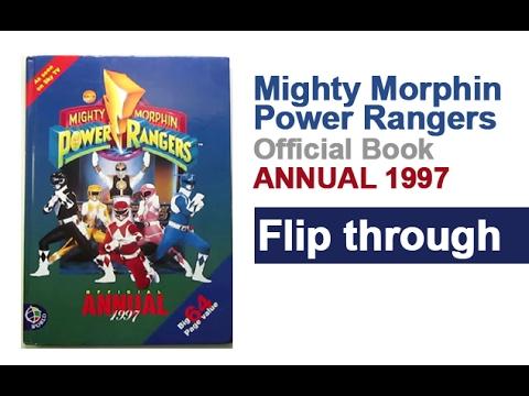 Mighty Morphin Power Rangers Annual Book 1997 Flip Through
