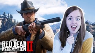 OMG IT'S BEAUTIFUL!   Red Dead Redemption 2 FIRST GAMEPLAY Reaction
