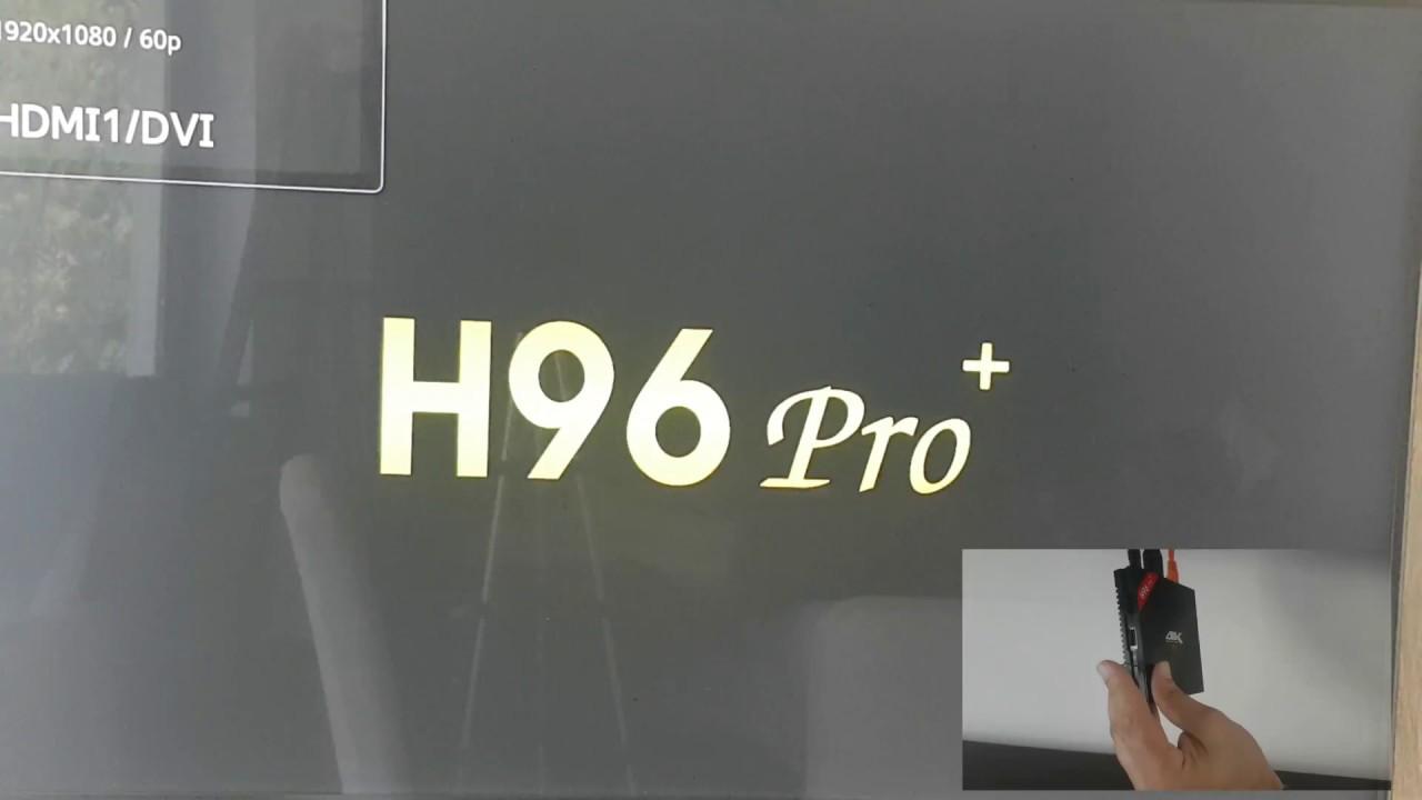 H96 pro plus hard reset