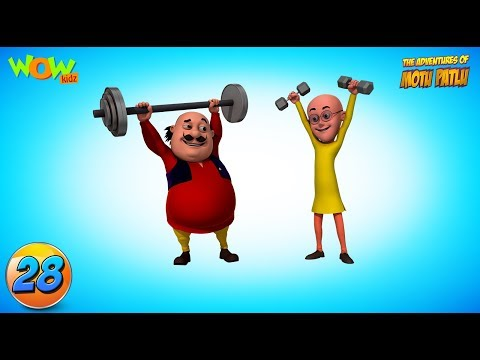 Motu Patlu funny videos collection #28 - As seen on Nickelodeon thumbnail