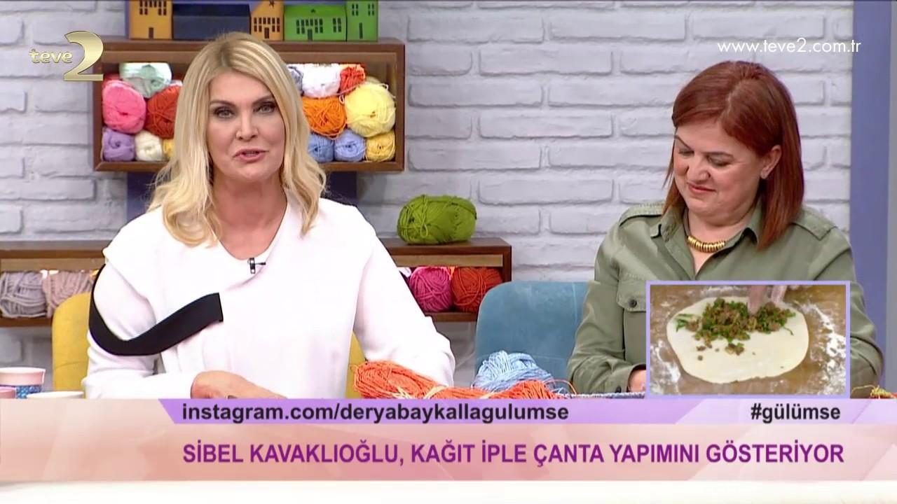 Yazlık Hasır Çanta Yapılışı Türkçe Anlatımlı Videolu