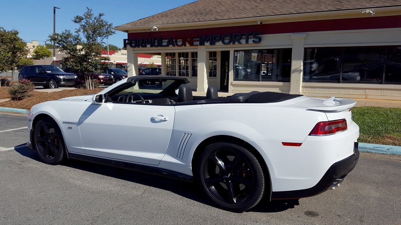 2014 Chevrolet Camaro SS Convertible   For Sale   Formula One Imports  Charlotte