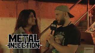 Jake Of RIVERS OF NIHIL Interviews ENTHEOS, CONJURER And WOLF KING | Metal Injection