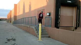 How to Ollie Stairs Easy