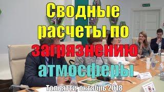 Ольга Двинянина: Разработка для Тольятти комплексного плана мероприятий  по снижению выбросов
