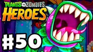 Plants vs. Zombies: Heroes - Gameplay Walkthrough Part 50 - A Taste for Zombies! (iOS, Android)