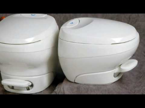 Thetford Bravura Fixed Caravan Motorhome Toilet Overview - YouTube