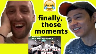 Baixar BTS (방탄소년단) — BTS moments that you probably haven't seen before | BTS Funny Moments | Reaction video