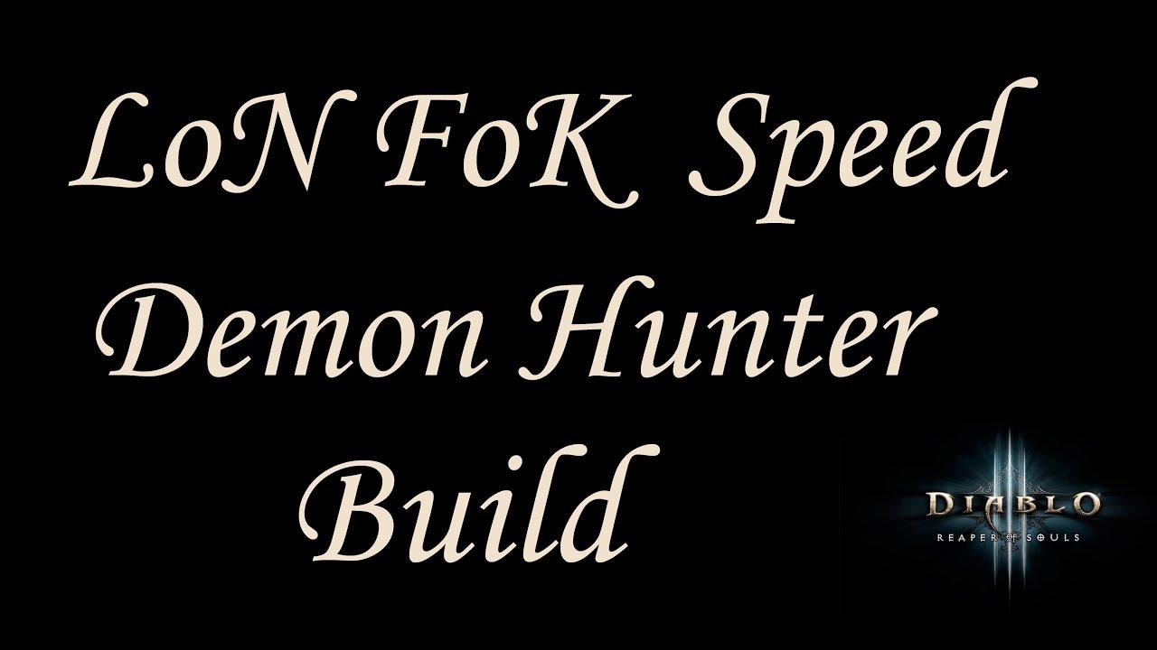 Diablo  Demon Hunter Speed Farm Build
