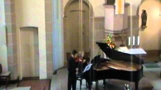 G.F. Händel Sonate D-Dur 2 Satz Allegro