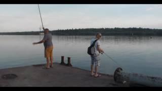 Запорожье . Рыбалка методом