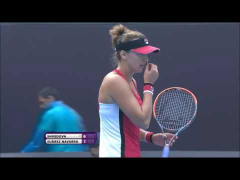 2016 China Open First Round | Yaroslava Shvedova vs Carla Suarez Navarro | WTA Highlights