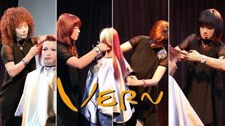Haircut tutorial - How to cut Vern Fashion contrast four man u0026 woman's hairstyles Vern Hairstyles 26