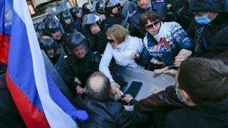 واشنطن تهدد روسيا بعقوبات قاسية ما لم تتدخل لإنهاء احتلال مباني الحكومة شرق أوكرانيا - أخبار الآن