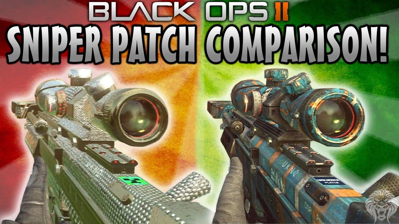 DSR 50 Pre/Post Patch Bolt Action Speeds Black Ops 2