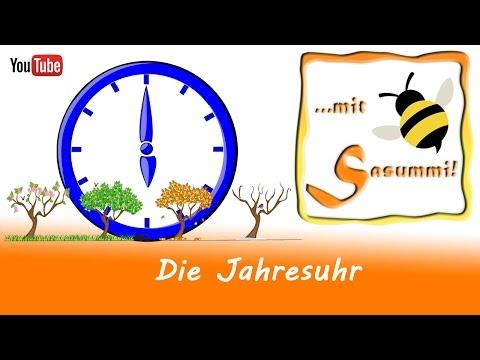 Singen mit Sasummi - Die Jahresuhr (Gitarre mit Akkorden)