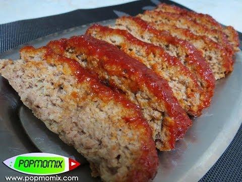 Meatloaf (Pastel de Carne) - Receta Americana - Video #127