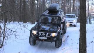 Mitsubishi Outlander 3 HD   Extreme Snow Drift Offroad Test Drive