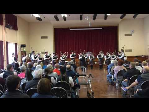 Portlethen & District Pipe Band: NOS Indoors - Huntly 2017 (Grade 3 MSR)