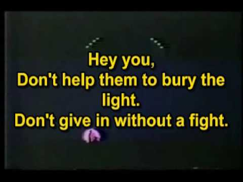 Pink Floyd - Hey You (Karaoke)