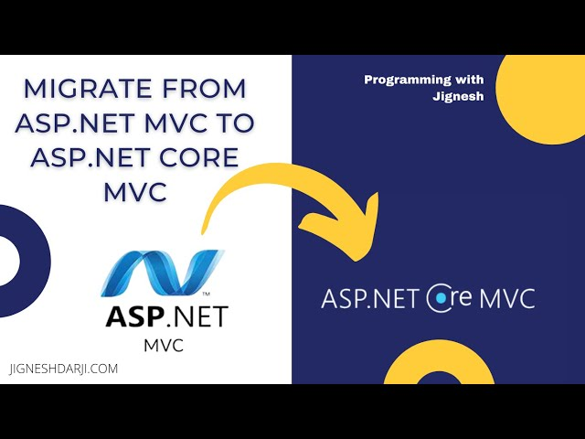 Migrate from ASP.NET MVC to ASP.NET Core MVC | Configure the ASP.NET Core site to use MVC